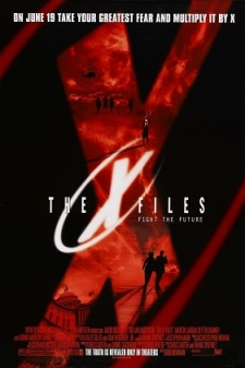 Poster X-Files Fight the Future 1998