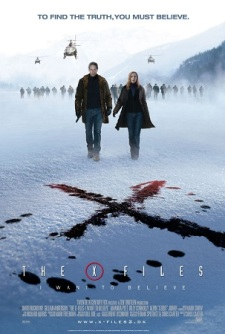 Poster X-Files I Want to Believe 2008